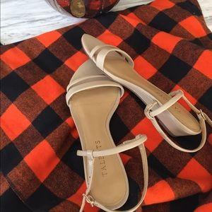 Talbots Tan Wedge Sandals